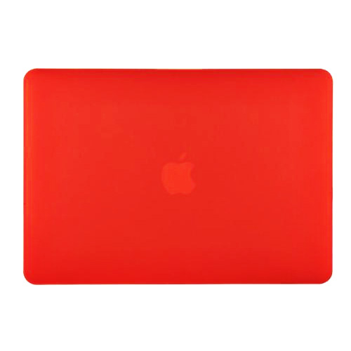Carcasa Macbook pro 13 roja mate