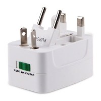 Adaptador Enchufe Universal Viajero UK US AUS NZ