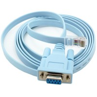 Cable adaptador RS232 Serial DB9 a RJ45