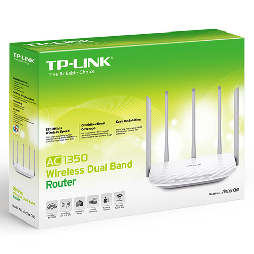 Router Dual Band 5GHz TP-Link Archer C60