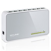 Switch de red 8 puertos RJ45 Lan TP-Link TL-SF1005D